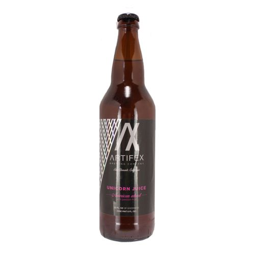 Artifex Brewing Unicorn Juice American Wheat Beer With Passion Fruit, California