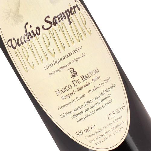 Marco De Bartoli Vecchio Samperi Ventennale (Dry) Marsala Wine, Sicily 500ml