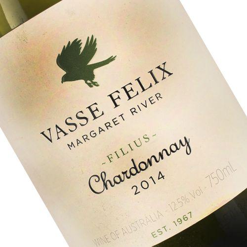 """Vasse Felix 2014 """"Filius"""" Chardonnay Margaret River, Australia"""