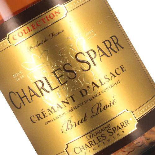Charles Sparr Cremant d'Alsace Brut Rose, Alsace