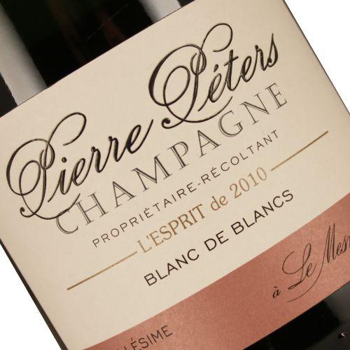 Pierre Peters 2010 L'Esprit Blanc de Blancs Grands Cru, Le Mesnil-sur-Oger, Champagne