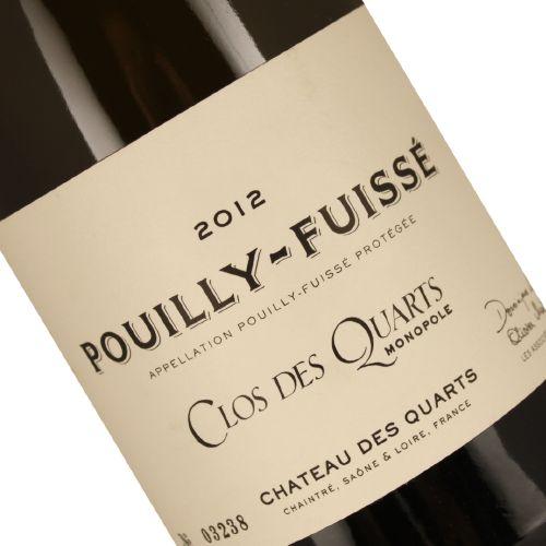 Chateau des Quarts 2012 Pouilly-Fuisse Clos des Quarts, Burgundy