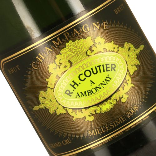 R.H. Coutier 2008 Millesime Brut Grand Cru, Ambonnay
