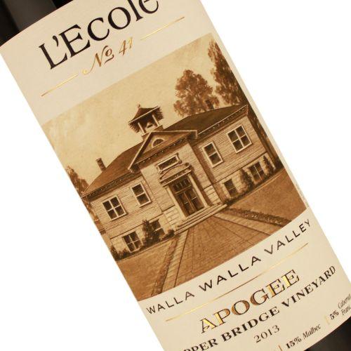L'Ecole 2013 'Apogee' Pepper Bridge Vineyard Bordeaux Blend, Walla Walla Valley