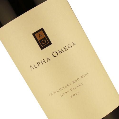 Alpha Omega 2013 Propietary Red, Napa Valley