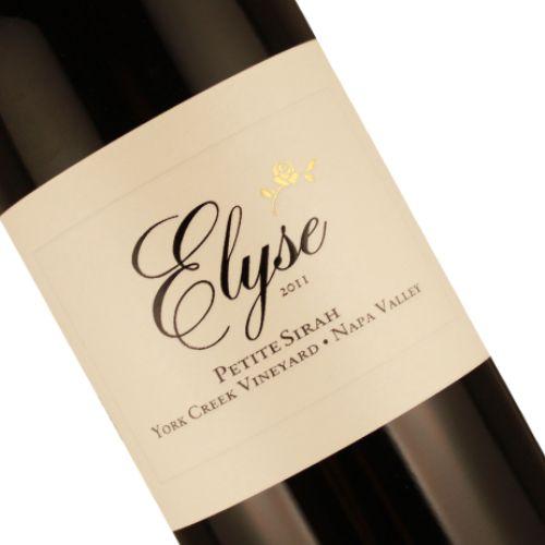 "Elyse 2011 Petite Sirah ""York Creek Vineyard"", Napa Valley"