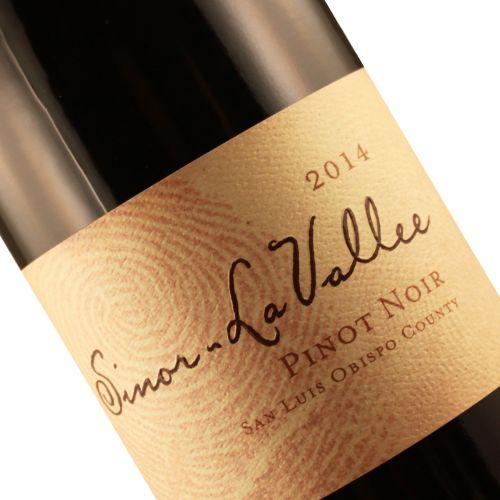 Sinor-La Vallee 2014 Pinot Noir San Luis Obispo