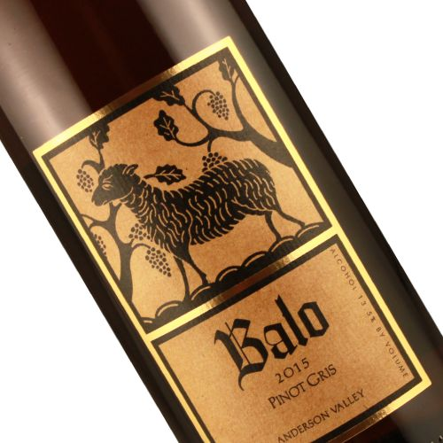 Balo 2015 Pinot Gris, Anderson Valley