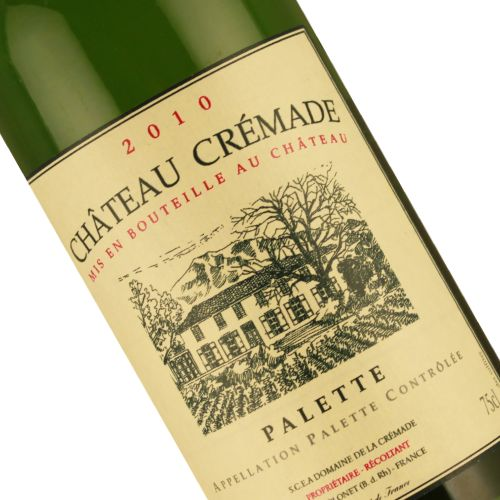 Chateau Cremade 2010 Palette Blanc White Wine, Provence
