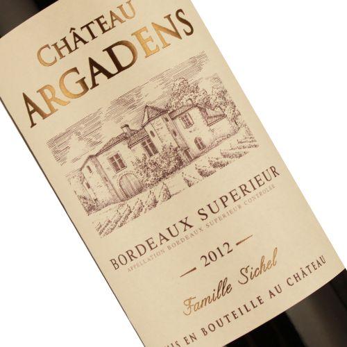Chateau Argadens 2012 Bordeaux Superieur Rouge, Bordeaux
