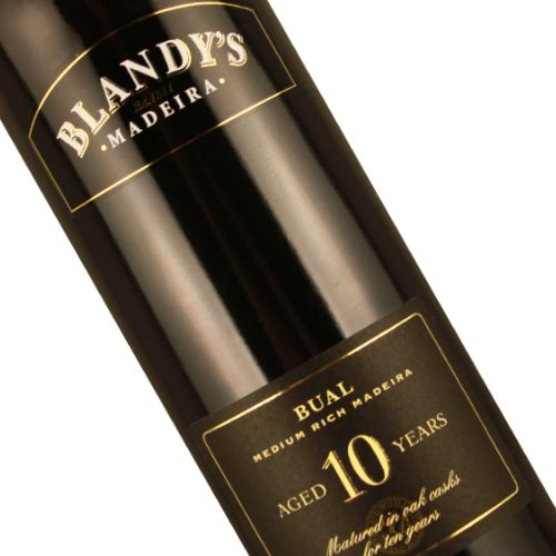 Blandy's 10 Year Old Bual Madeira, Portugal - 500ml
