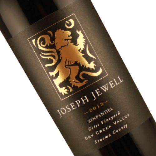 Joseph Jewell 2013 Zinfandel Grist Vineyard Dry Creek Valley, Sonoma County