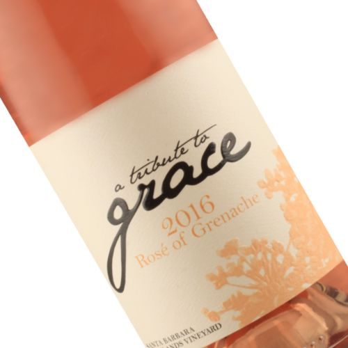 A Tribute to Grace 2016 Rose Highlands Vineyard, Santa Barbara