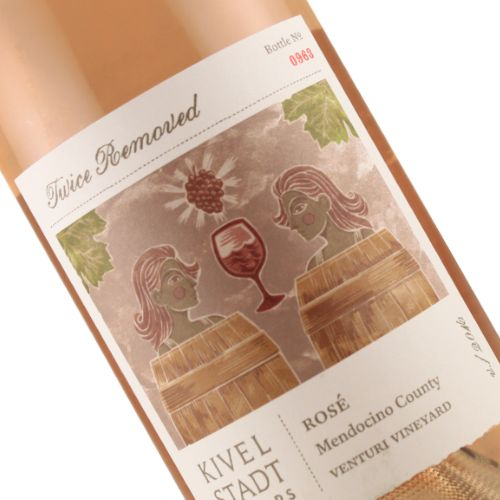 "Kivelstadt Cellars 2016 ""Twice Removed"" Venturi Vineyard Rose, Mendocino"
