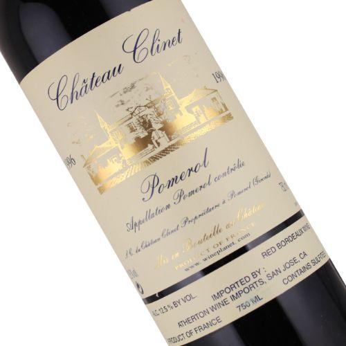 Chateau 1996 Clinet-Pomerol, Bordeaux