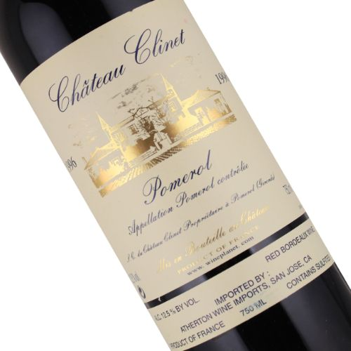 Chateau Clinet 1996 Pomerol, Bordeaux