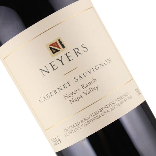 Neyers 2014 Cabernet Sauvignon Neyers Ranch, Napa Valley