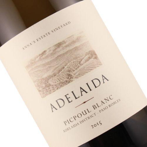 Adelaida 2015 Picpoul Blanc, Paso Robles