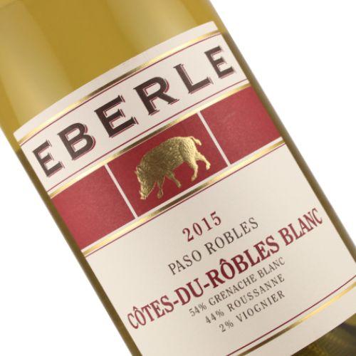 Eberle 2015 Cotes-du-Robles Blanc, Paso Robles