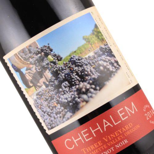 Chehalem 2014 Pinot Noir Three Vineyard, Willamette Valley