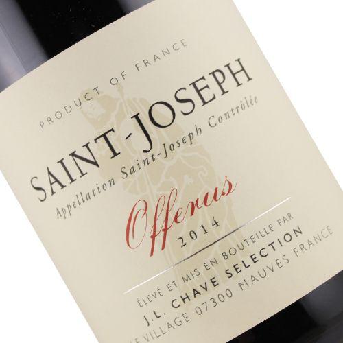 """J. L. Chave Selection 2014 """"Offerus"""" Saint-Joseph Cotes-du-Rhone"""