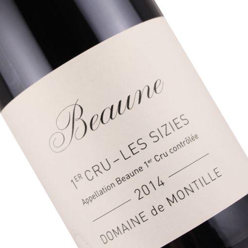 Domaine de Montille 2014 Beaune Premier Cru Les Sizies, Burgundy