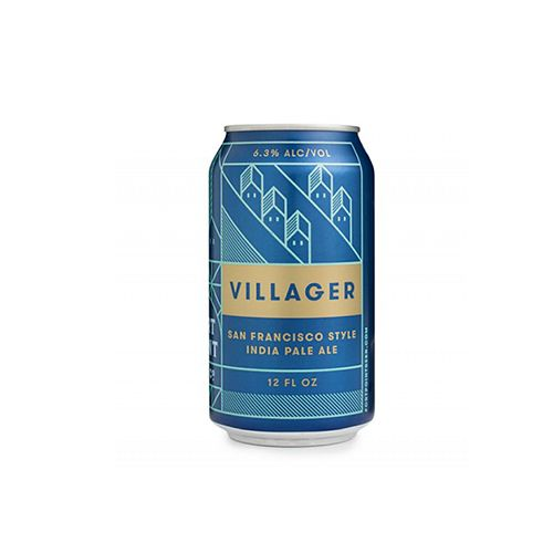 "Fort Point Brewing ""Villager"" IPA, California - 12oz can"
