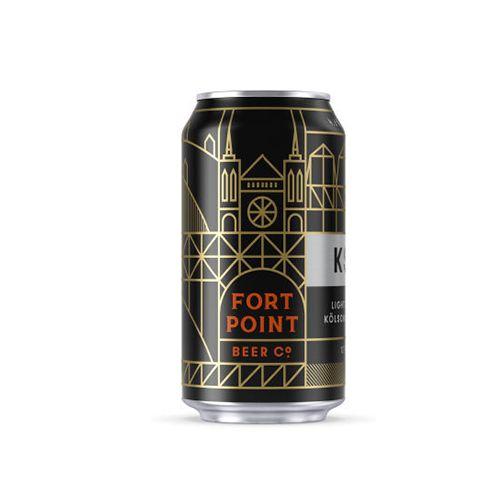 "Fort Point Brewing ""KSA"" Kolsch, California - 12oz can"