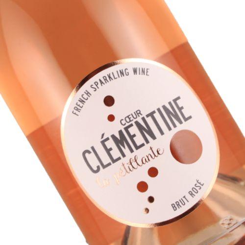 Coeur Clementine Brut Rose Sparkling France