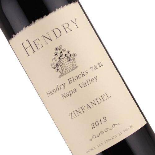Hendry 2013 Zinfandel Blocks 7 & 22 Napa Valley