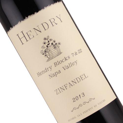 Hendry 2013 Zinfandel Blocks 7 & 22 Napa Valley