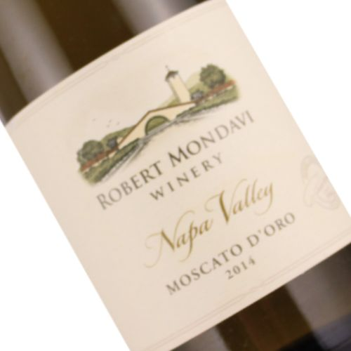 Robert Mondavi 2014 Moscato D'Oro Napa Valley half-bottle