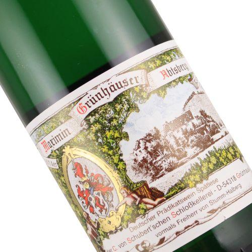 Von Schubert Maximin Grunhauser Abtsberg 2014 Riesling Spatlese, Mosel