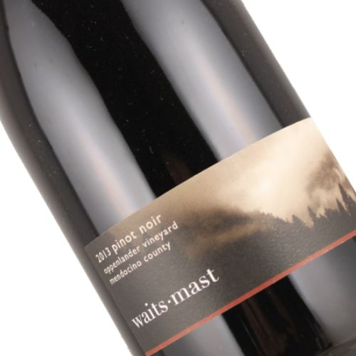 Waits-Mast 2013 Pinot Noir Oppenlander Vineyard Mendocino County