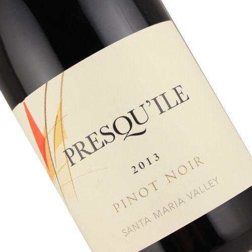 Presqu'ile 2013 Pinot Noir, Santa Maria Valley