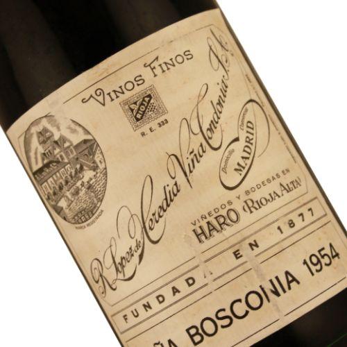 R. Lopez de Heredia 1954 Vina Bosconia, Rioja