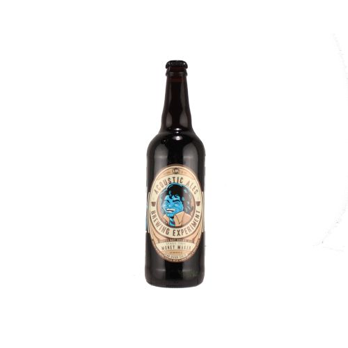 """Acoustic Ales Brewing Experiment """"Shake Your Money Maker"""" Coffee Nut Brown Ale, California"""