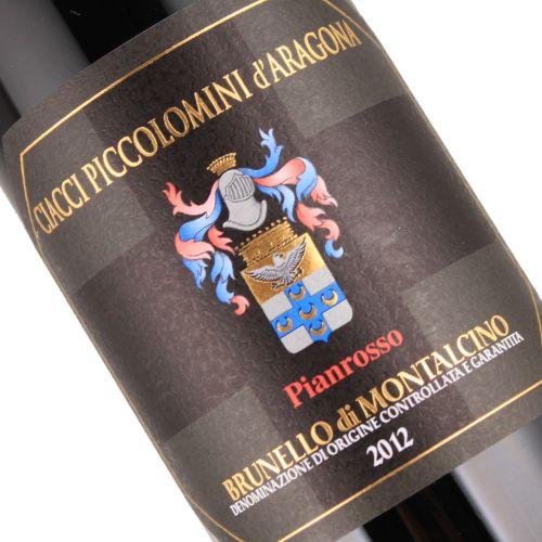 Ciacci Piccolomini d'Aragona 2012 Brunello di Montalcino Pianrosso, Magnum, Tuscany