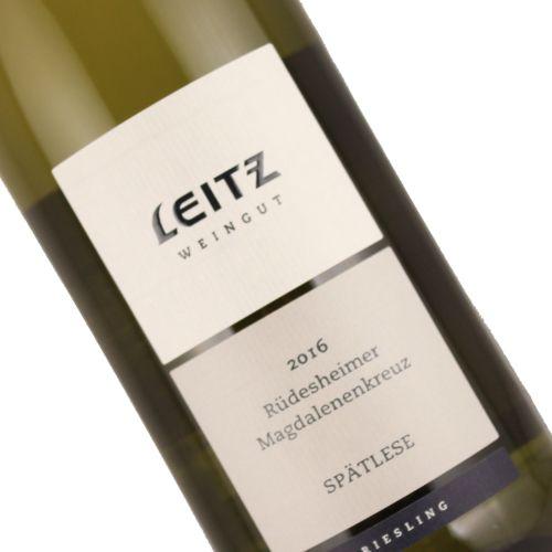 Leitz 2016 Rudesheimer Magdalenenkreuz Riesling Spatlese, Rheingau, Germany