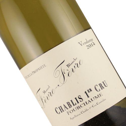 Marcel Blanche 2015 Fevre Fevre Fourchaume Premier Cru Chablis, Burgundy