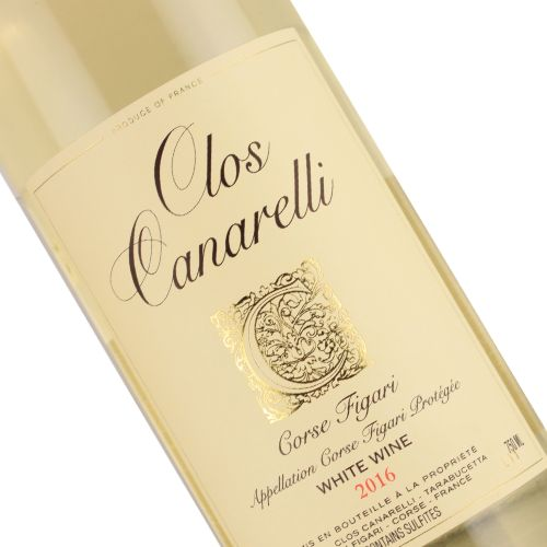 Clos Canarelli 2016 Figari Blanc, Corsica