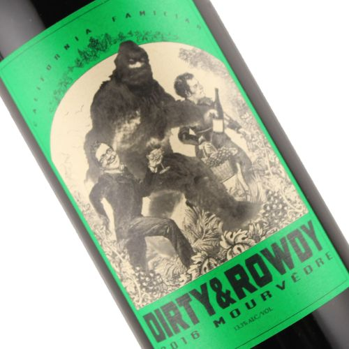 Dirty & Rowdy 2016 Mourvedre California