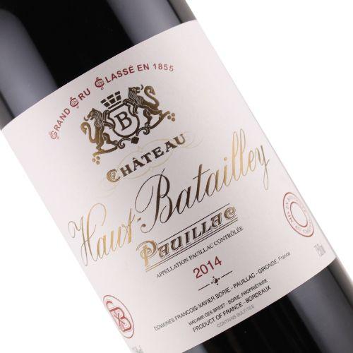 Chateau Haut Batailley 2014 Pauillac Grand Cru Bordeaux