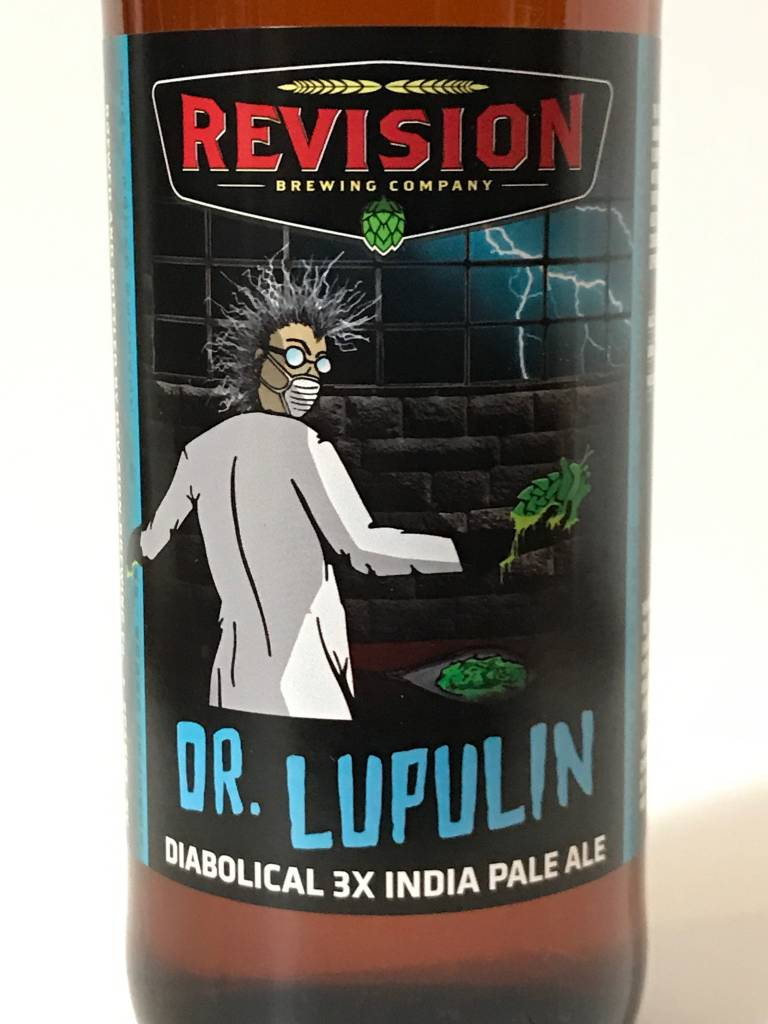 "Revision Brewing ""Dr. Lupulin"" Triple IPA, Nevada"