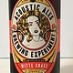 "Acoustic Ales Brewing Experiment ""Witte Snake"" Belgian, California"