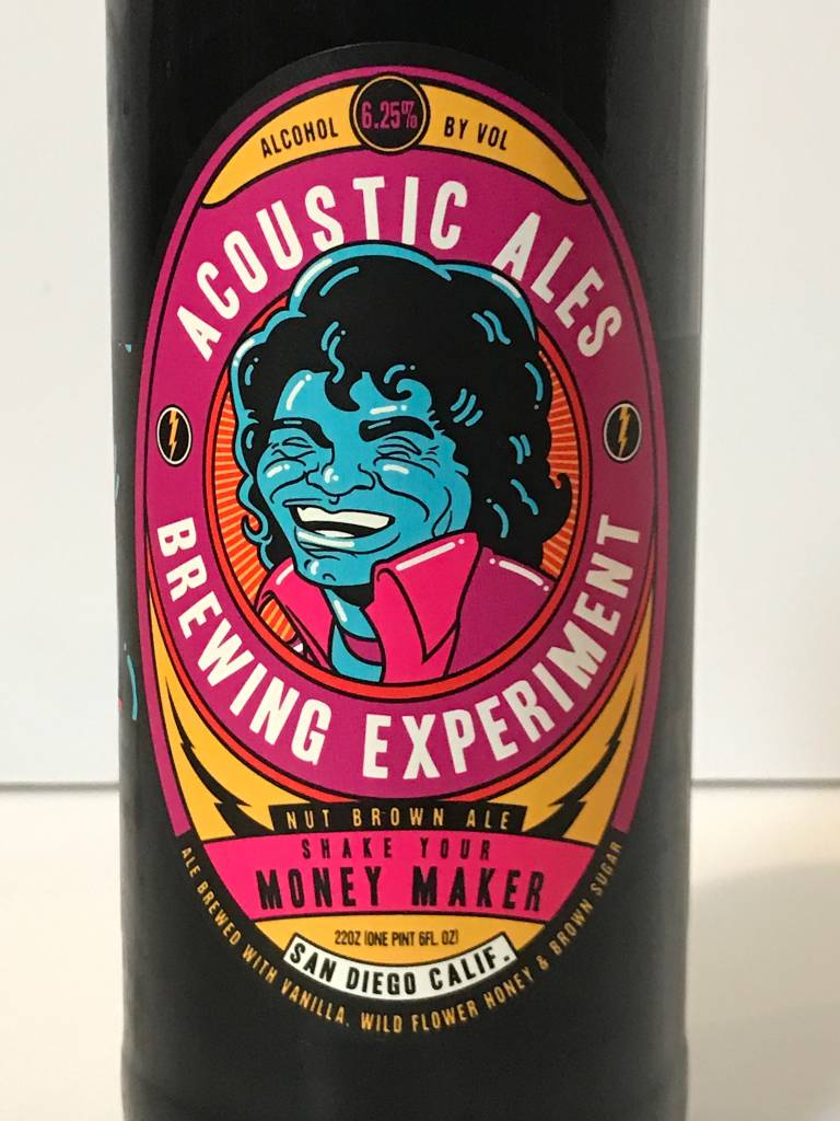 "Acoustic Ales Brewing Experiment ""Shake Your Money Maker"" Nut Brown Ale"