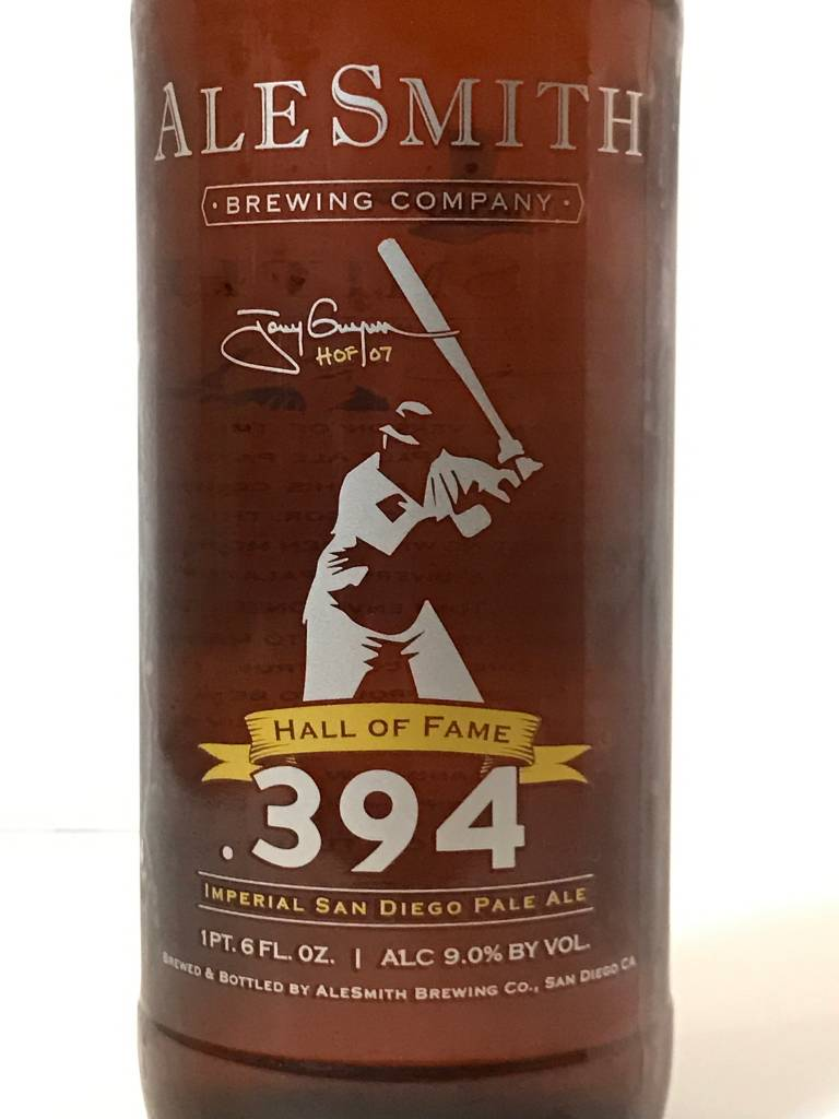 """AleSmith """"Hall of Fame .394"""" Imperial Pale Ale, California"""
