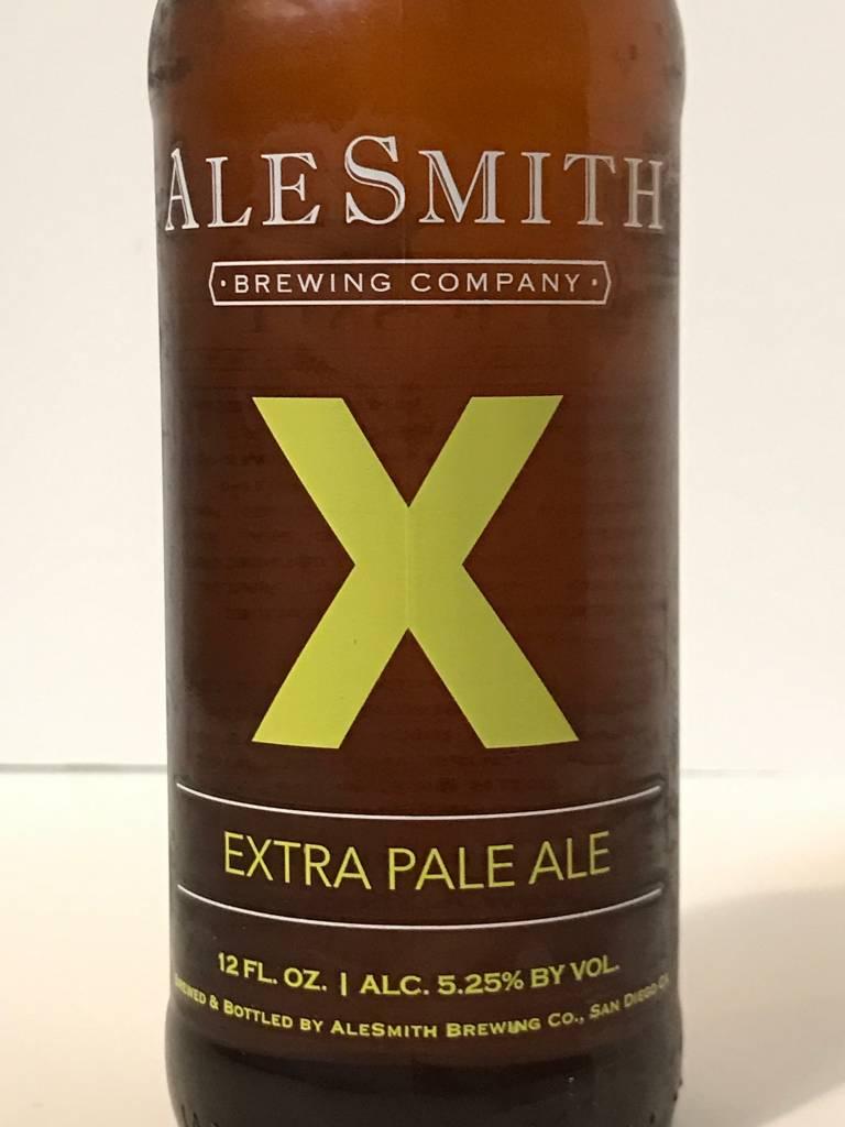 "Alesmith ""X"" Extra Pale Ale. California"