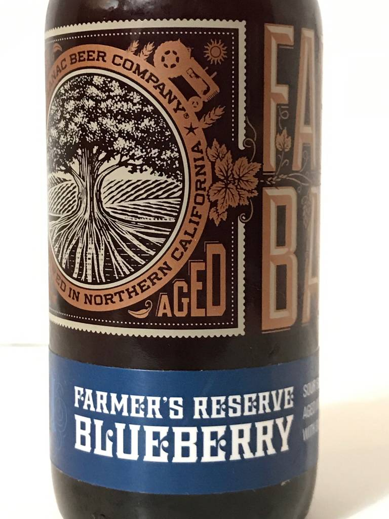 "Almanac Beer Company ""Farmers Reserve Blueberry"" Sour,  California"