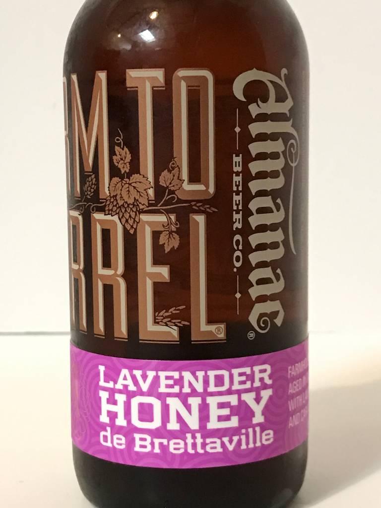 "Almanac Beer Company ""Lav Honey Brettaville"" Sour,  California"